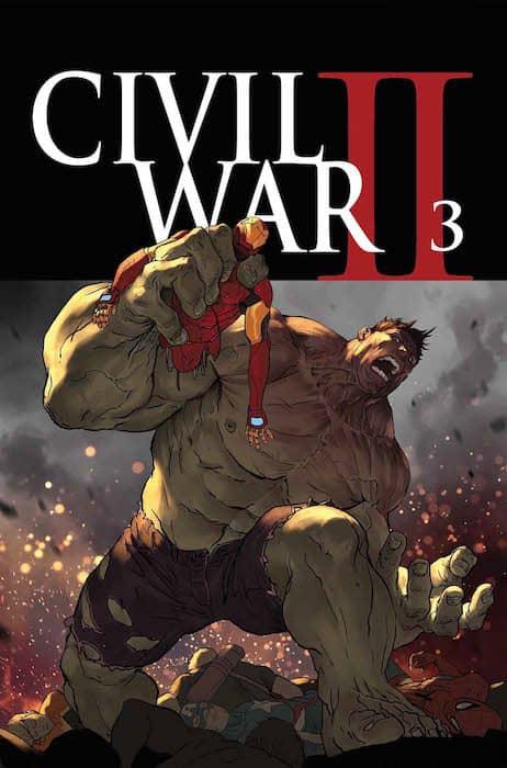 CIVIL WAR II N. 3