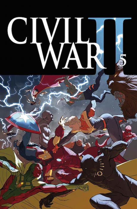 CIVIL WAR II N. 5