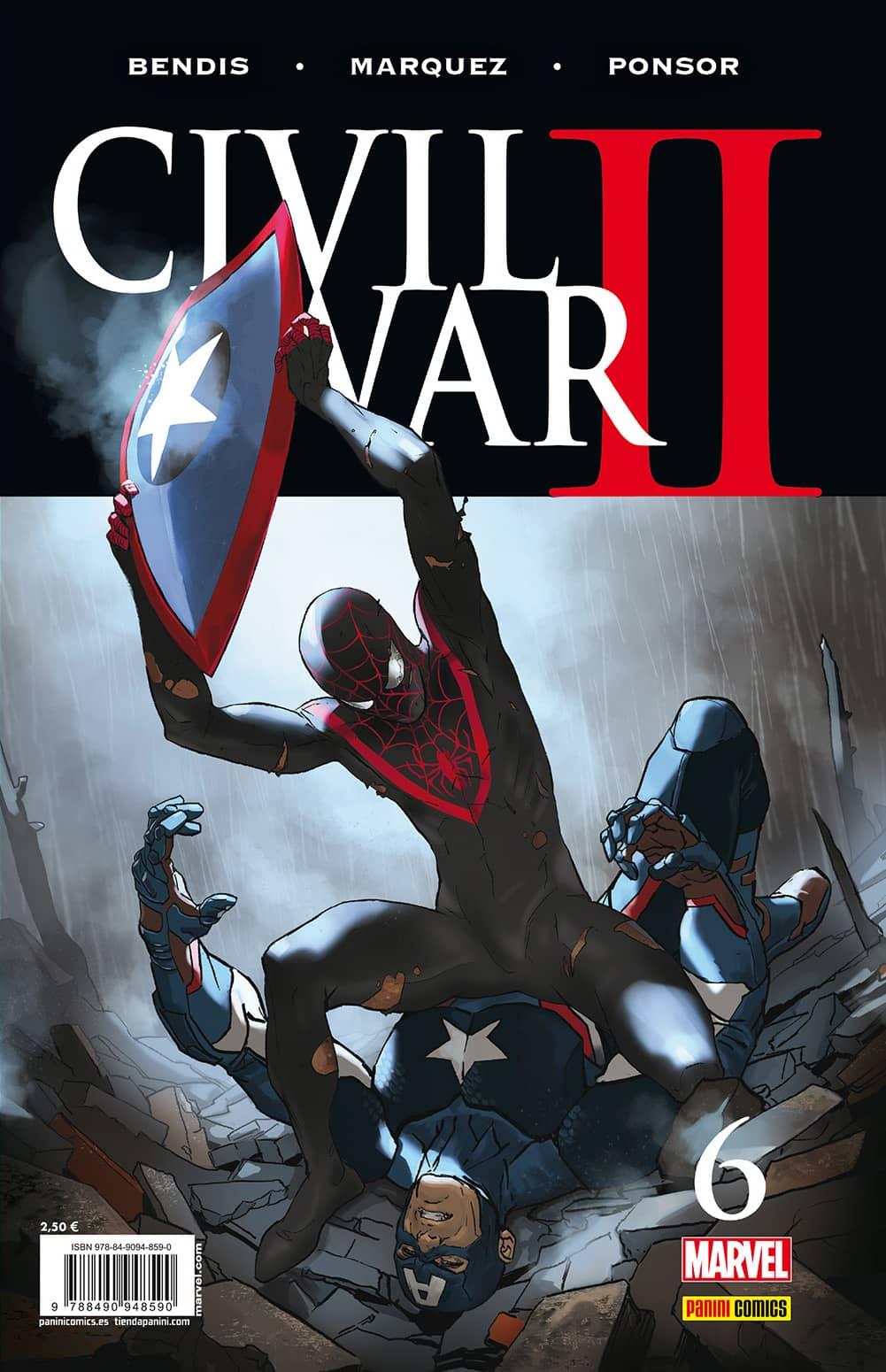 CIVIL WAR II N. 6