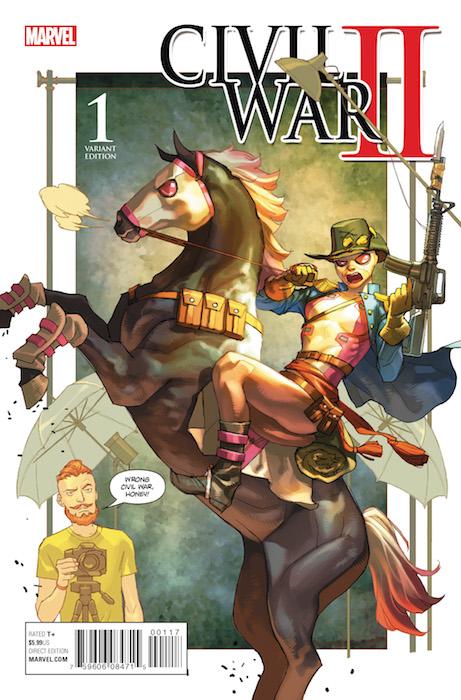 CIVIL WAR II N. 1 (EDICION LIMITADA 02)