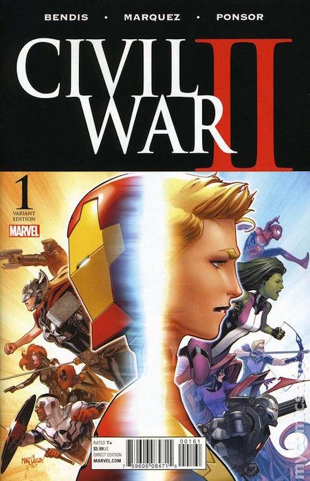 CIVIL WAR II N. 1 (EDICION LIMITADA 03)