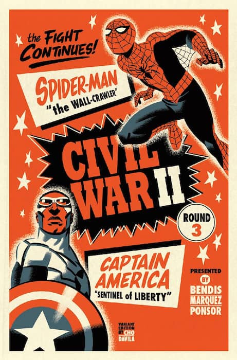 CIVIL WAR II N. 3 (PORTADA  ALTERNATIVA)