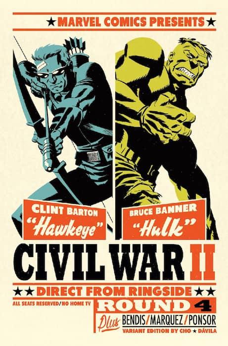 CIVIL WAR II N. 4 (PORTADA  ALTERNATIVA)