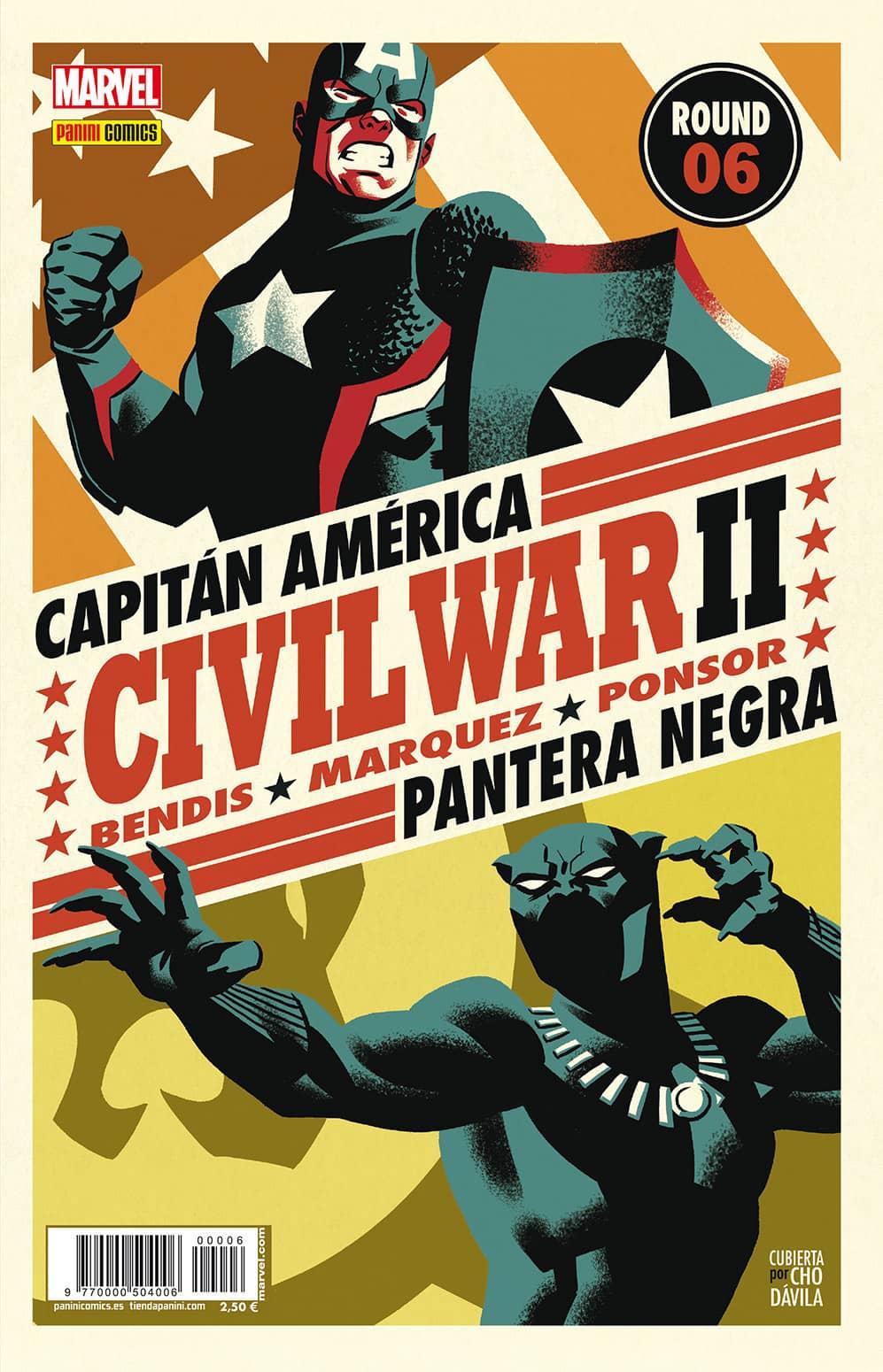 CIVIL WAR II N. 6 (PORTADA  ALTERNATIVA)