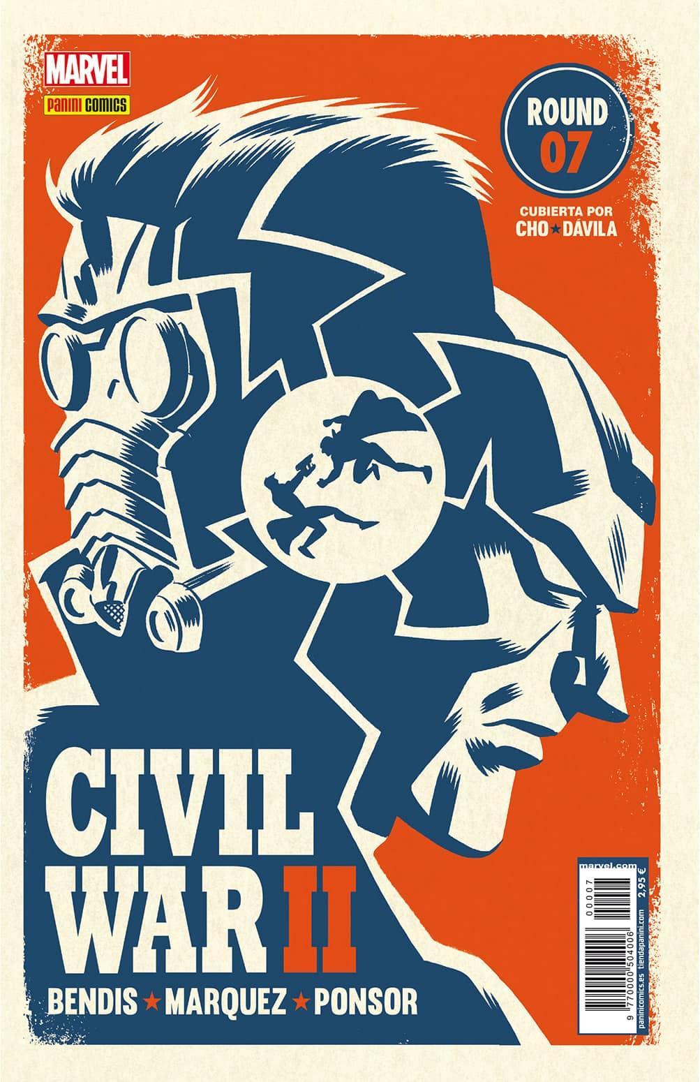 CIVIL WAR II N. 7 (PORTADA  ALTERNATIVA)