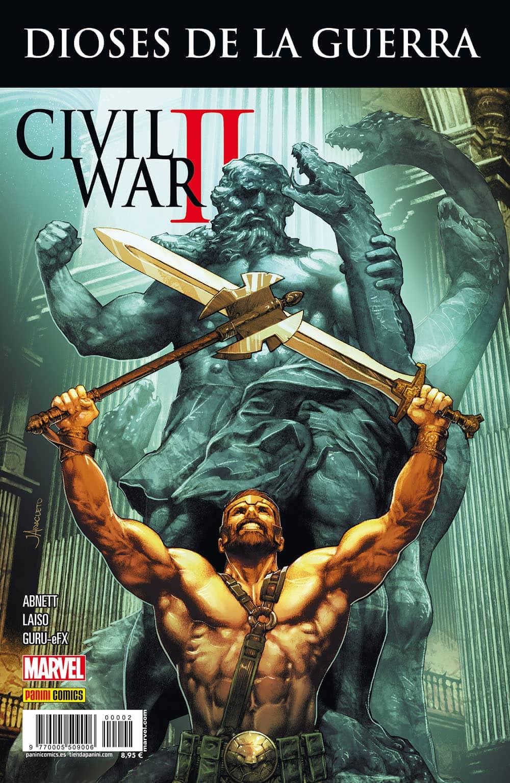 CIVIL WAR II CROSSOVER 02. DIOSES DE GUERRA