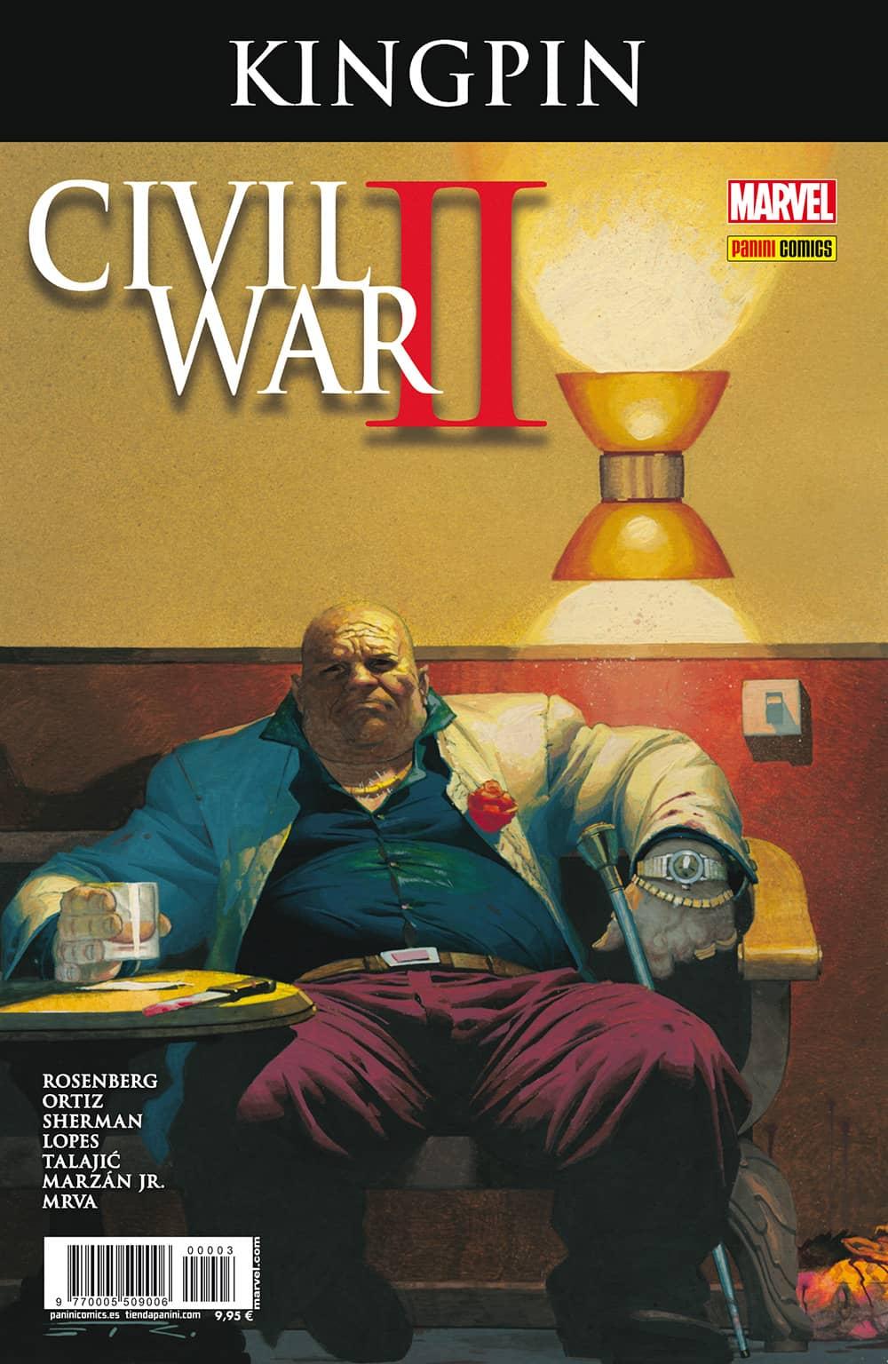 CIVIL WAR II CROSSOVER 03. KINGPIN