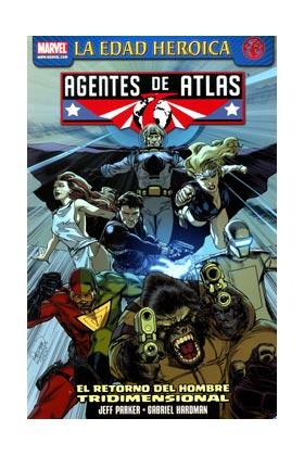 AGENTES DE ATLAS 05. EL RETORNO DEL HOMBRE TRIDIMENSIONAL
