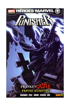 PUNISHER 04. FRANKENCASTLE : PARTES AUSENTES