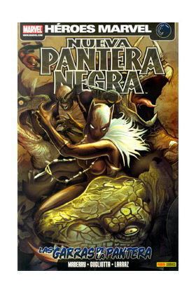 NUEVA PANTERA NEGRA 03: LAS GARRAS DE LA PANTERA