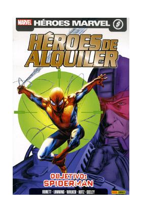 HEROES DE ALQUILER VOL. 2 02. OBJETIVO: SPIDERMAN