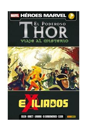 EL PODEROSO THOR. VIAJE AL MISTERIO 03. EXILIADOS