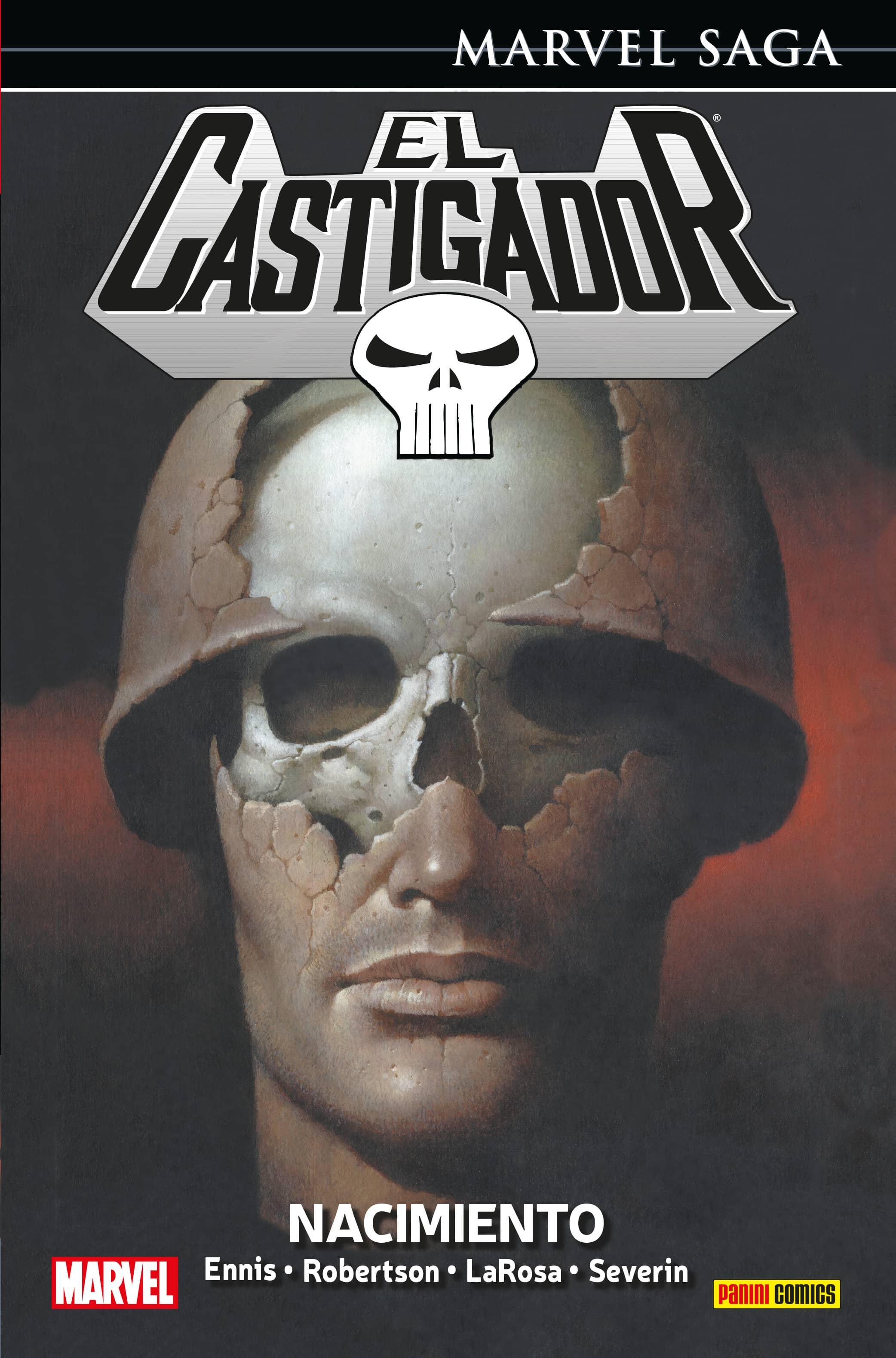 EL CASTIGADOR 01. NACIMIENTO  (MARVEL SAGA 14)