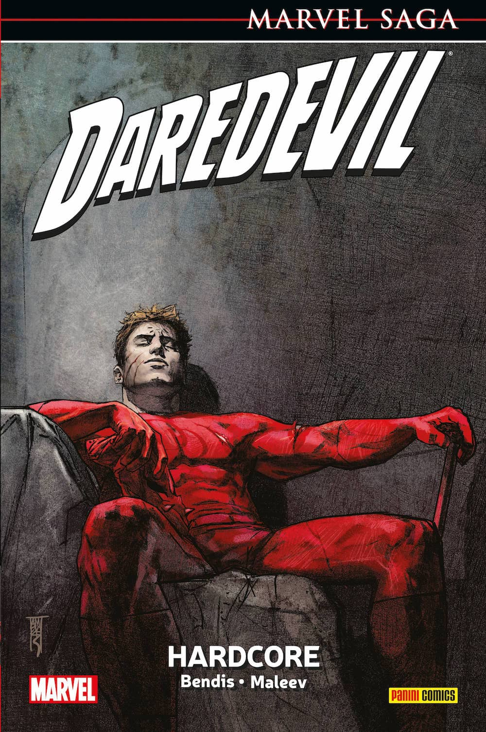 DAREDEVIL 08: HARDCORE   (MARVEL SAGA 24)