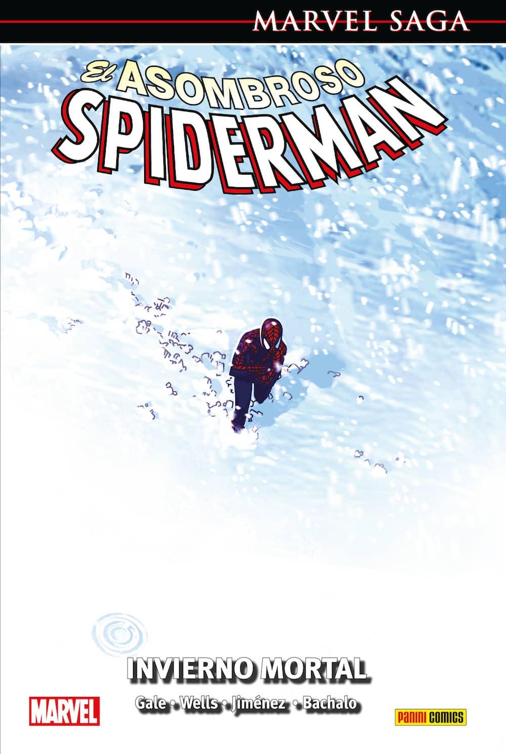 EL ASOMBROSO SPIDERMAN 15. INVIERNO MORTAL (MARVEL SAGA 35)