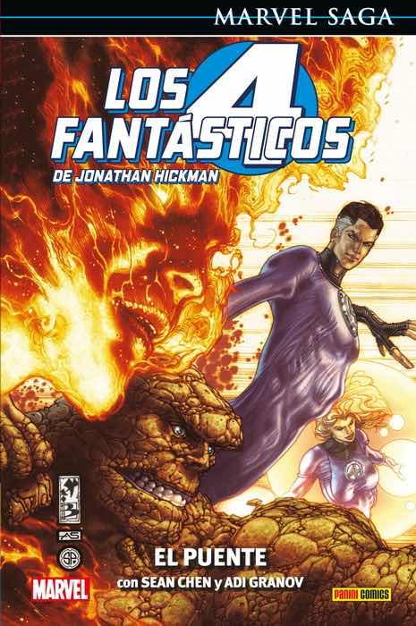 LOS 4 FANTASTICOS DE JONATHAN HICKMAN 01: EL PUENTE   (MARVEL SAGA 88)