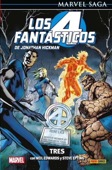 LOS 4 FANTASTICOS DE JONATHAN HICKMAN 03: TRES  (MARVEL SAGA 96)