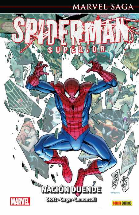 EL ASOMBROSO SPIDERMAN 44. SPIDERMAN SUPERIOR: NACION DUENDE  (MARVEL SAGA 101)