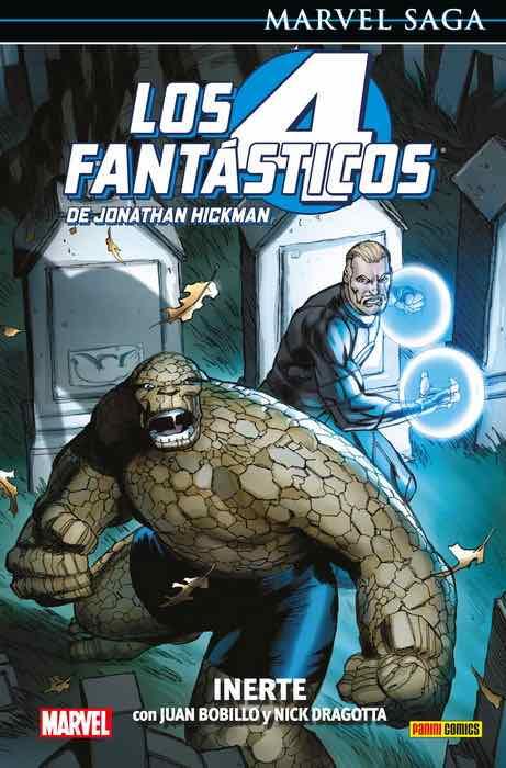 LOS 4 FANTASTICOS DE JONATHAN HICKMAN 08: INERTE (MARVEL SAGA 108)