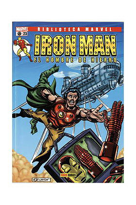 BIBLIOTECA MARVEL: IRON MAN 023