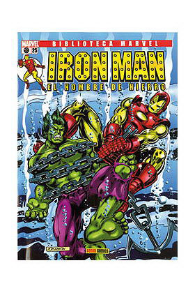 BIBLIOTECA MARVEL: IRON MAN 025