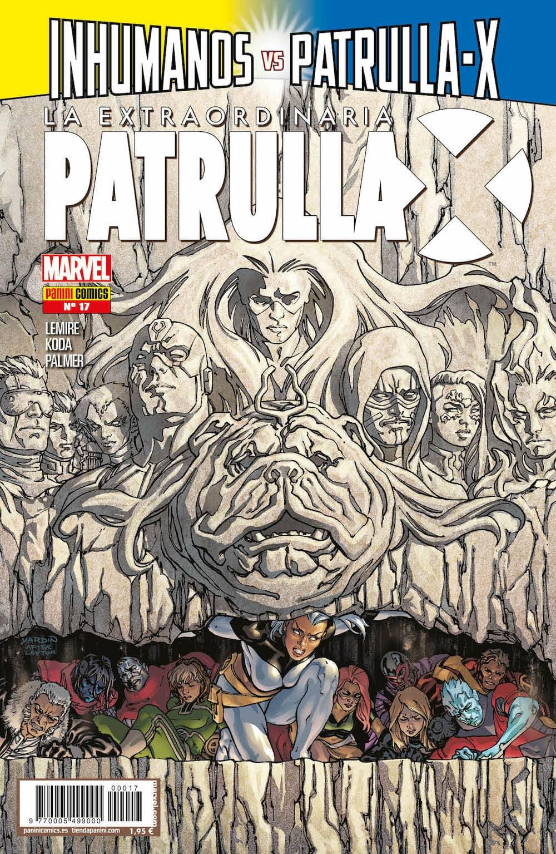 LA EXTRAORDINARIA PATRULLA-X 17