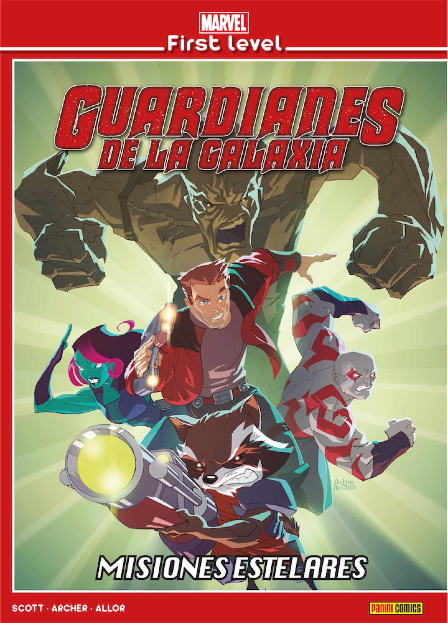 MARVEL FIRST LEVEL 05. GUARDIANES DE LA GALAXIA: MISIONES ESTELARES
