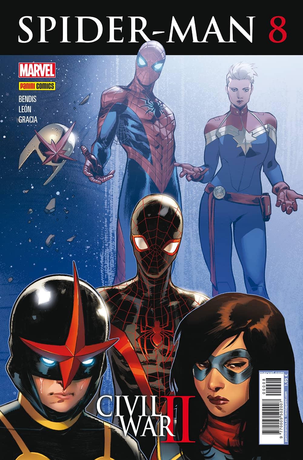 SPIDER-MAN 08 (CIVIL WAR II)