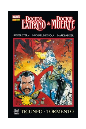 DOCTOR EXTRAÑO & DOCTOR MUERTE: TRIUNFO Y TORMENTO (MARVEL GRAPHIC NOVELS)
