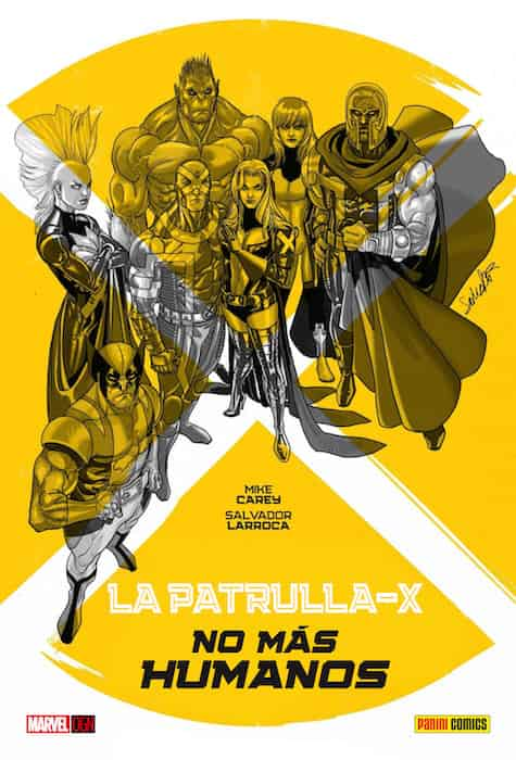 LA PATRULLA-X NO MAS HUMANOS (MARVEL GRAPHIC NOVELS)