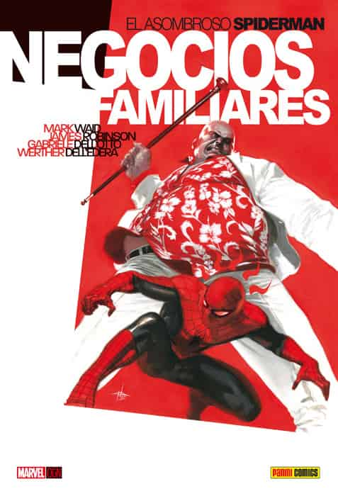 SPIDERMAN. NEGOCIOS FAMILIARES  (MARVEL GRAPHIC NOVELS)