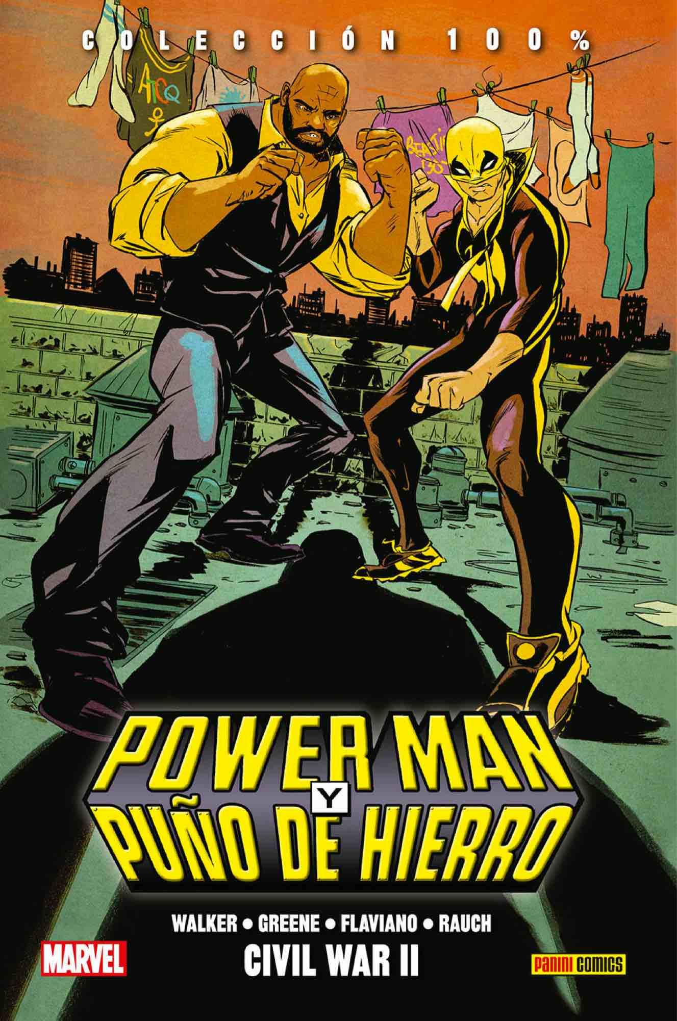 POWER MAN Y PUÑO DE HIERRO 02. CIVIL WAR II
