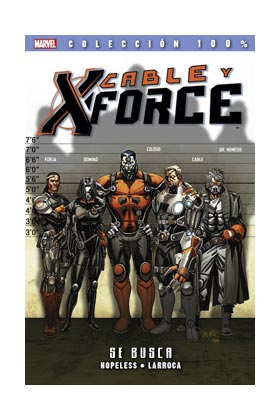 CABLE Y X-FORCE 1. SE BUSCA