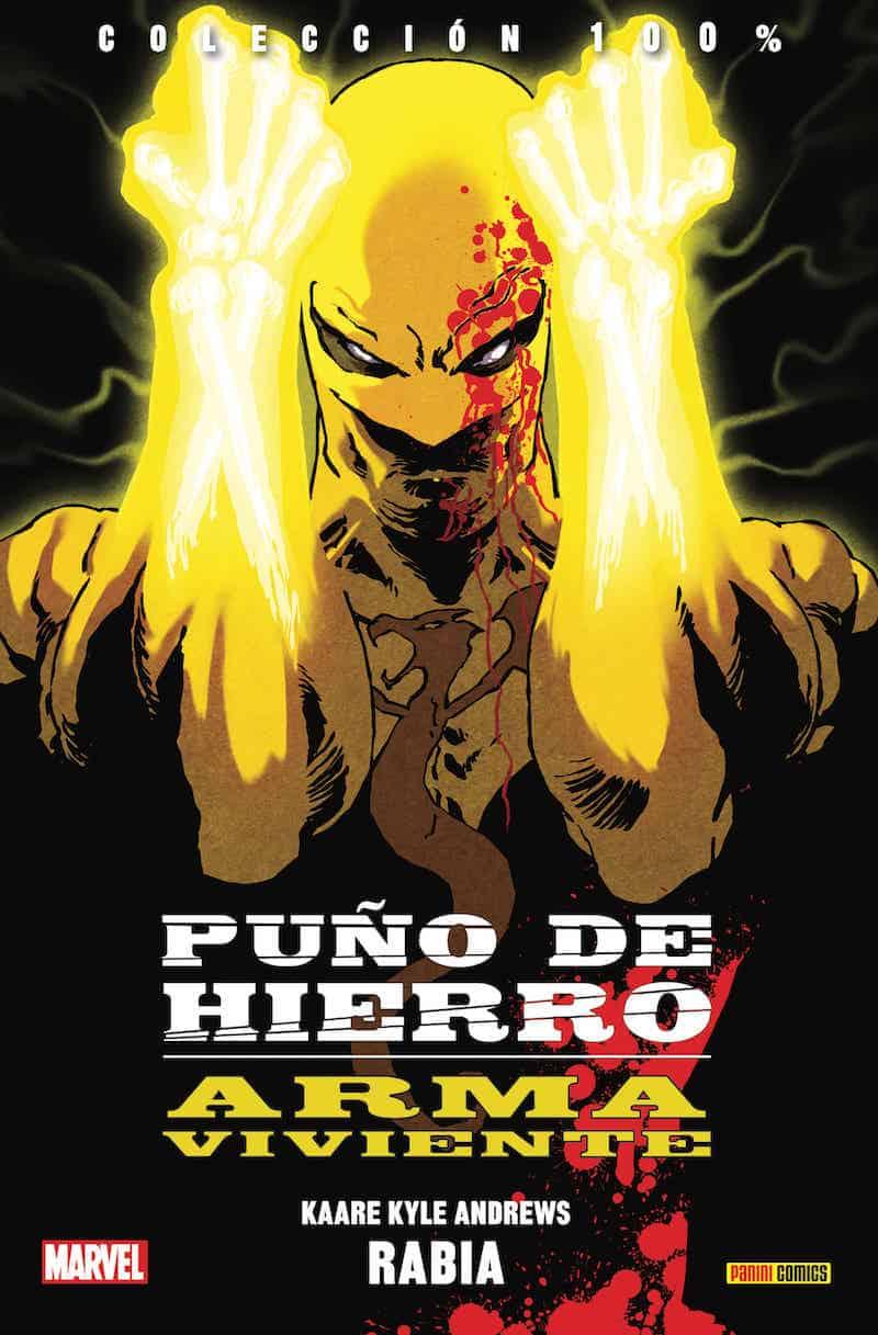 PUÑO DE HIERRO: ARMA VIVIENTE 01