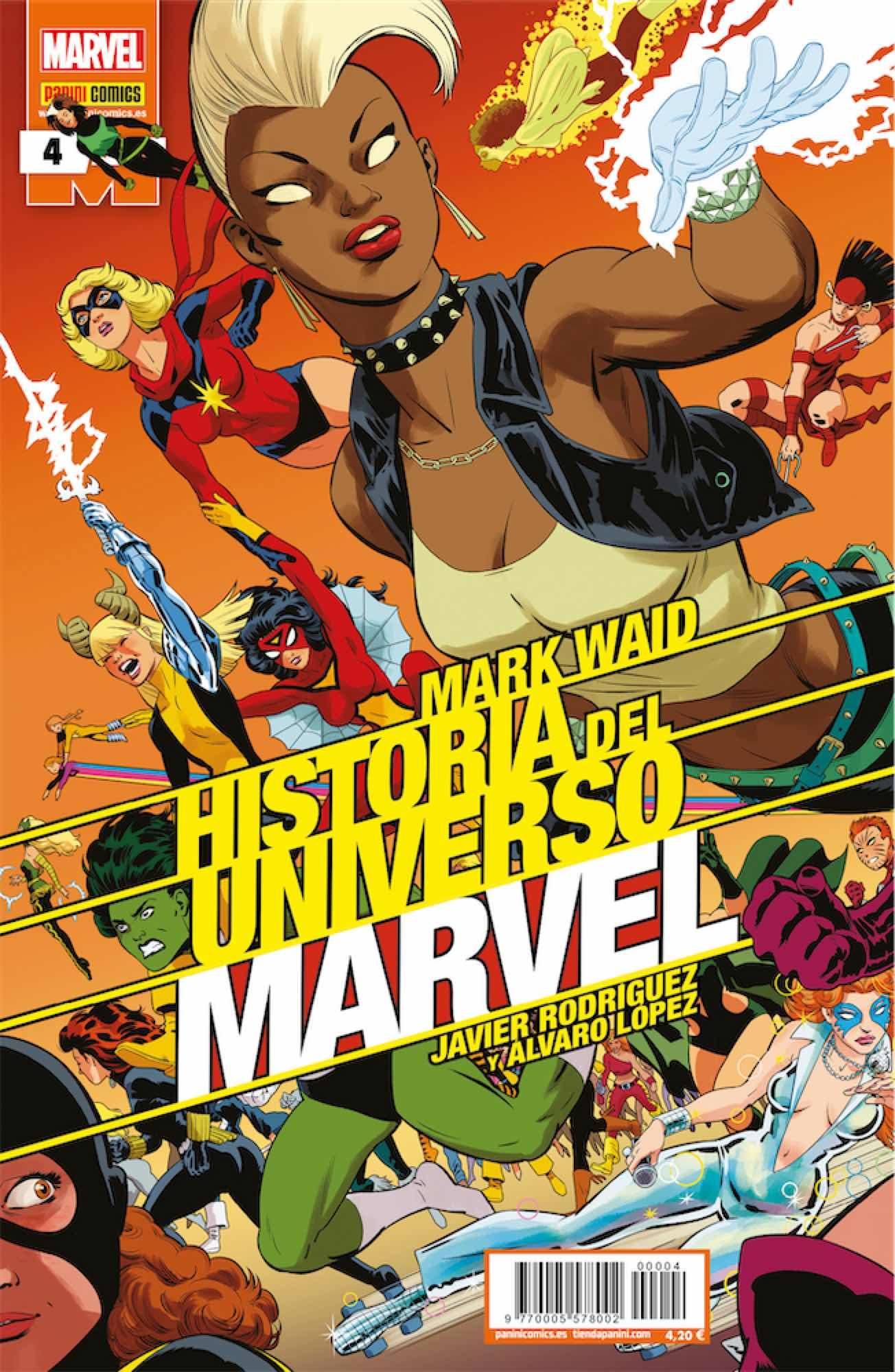 HISTORIA DEL UNIVERSO MARVEL 04