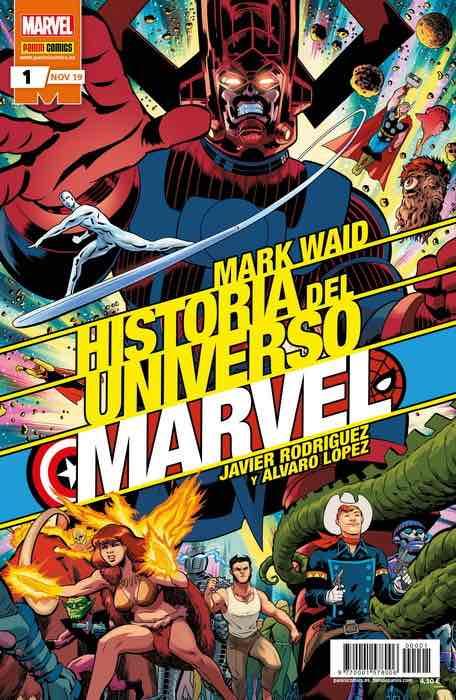 HISTORIA DEL UNIVERSO MARVEL 01 (EDICION ESPECIAL)