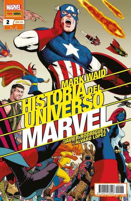 HISTORIA DEL UNIVERSO MARVEL 02 (EDICION ESPECIAL)