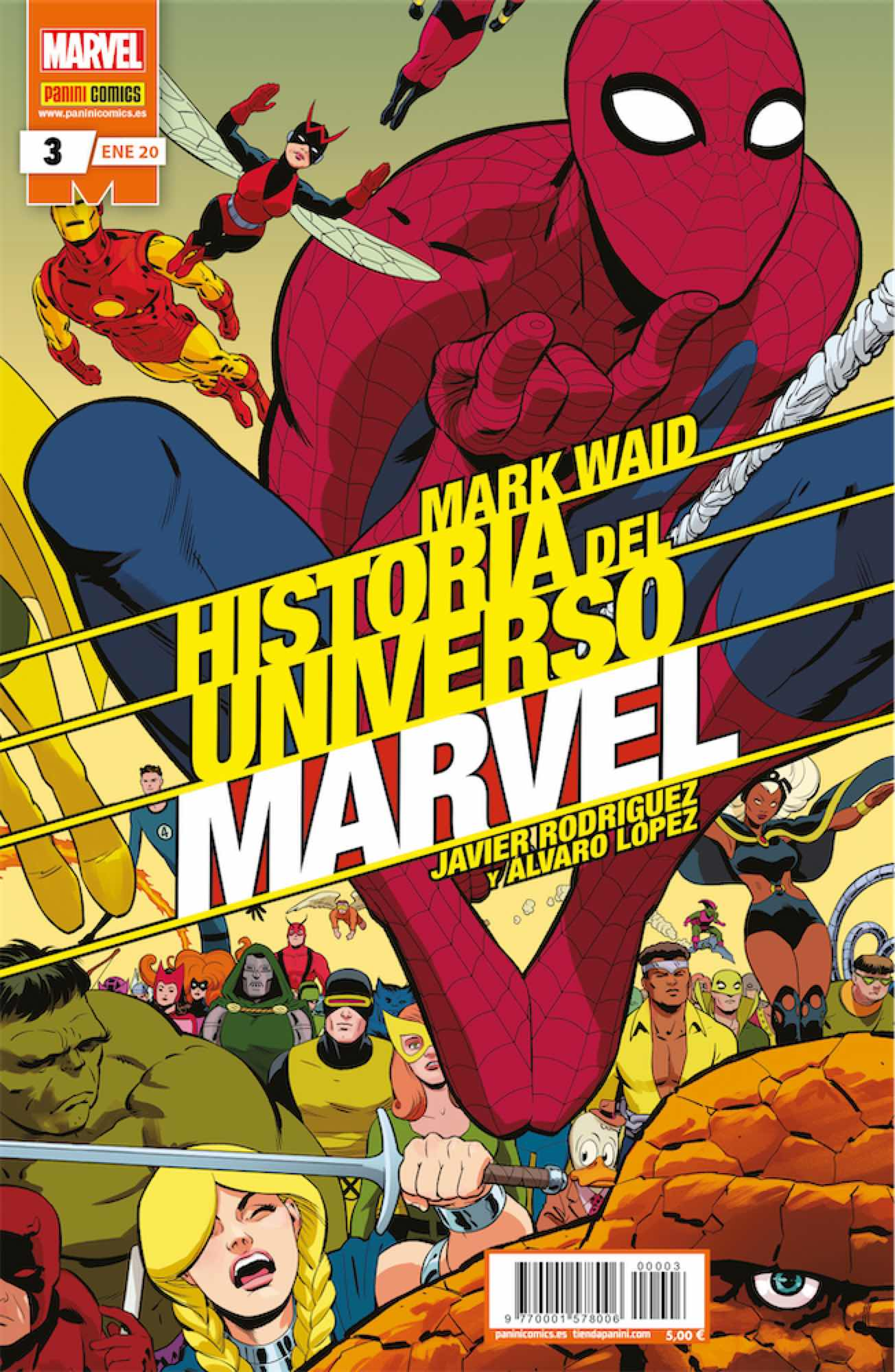 HISTORIA DEL UNIVERSO MARVEL 03 (EDICION ESPECIAL)