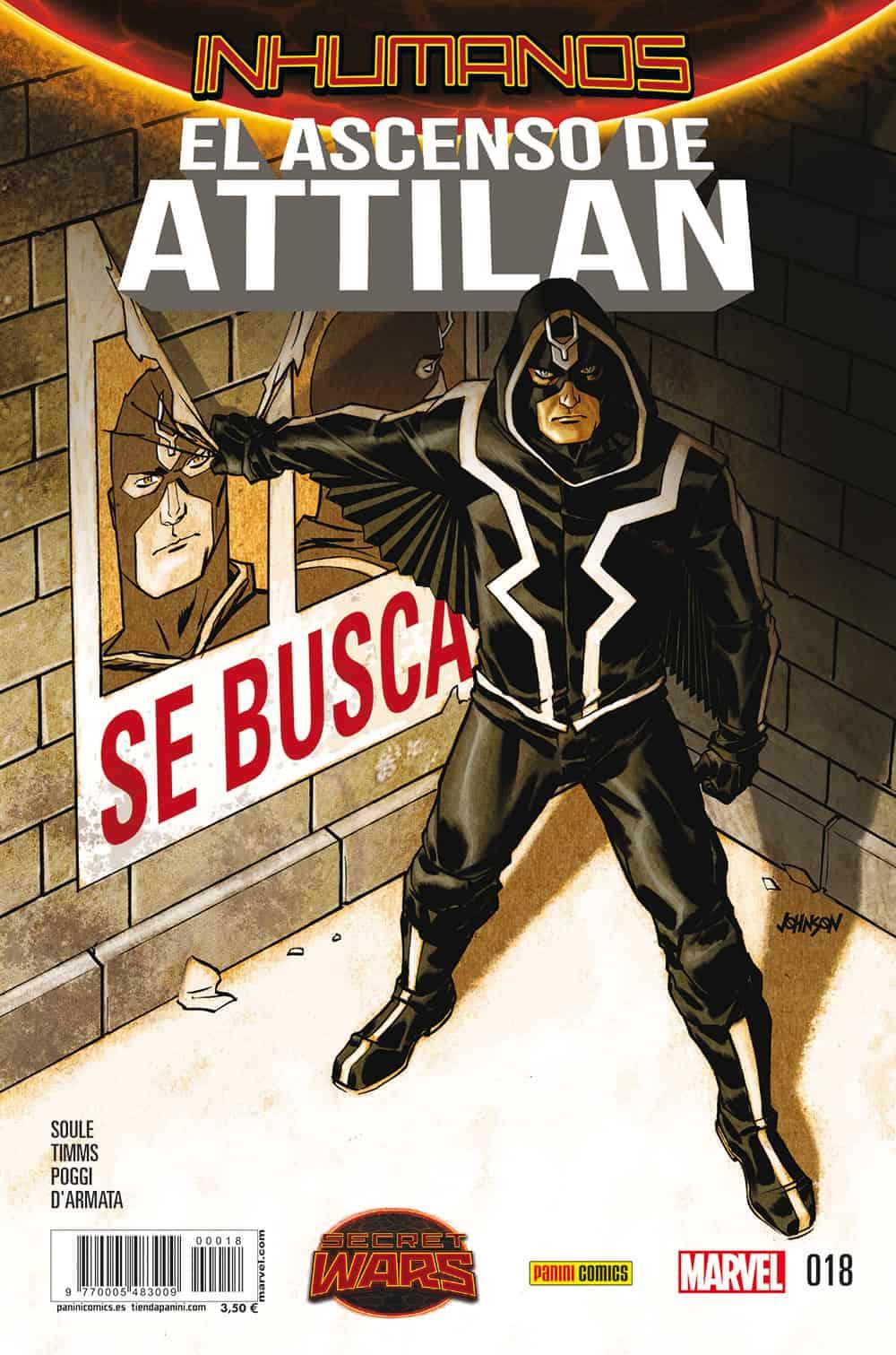 INHUMANOS 18. EL ASCENSO DE ATTILAN