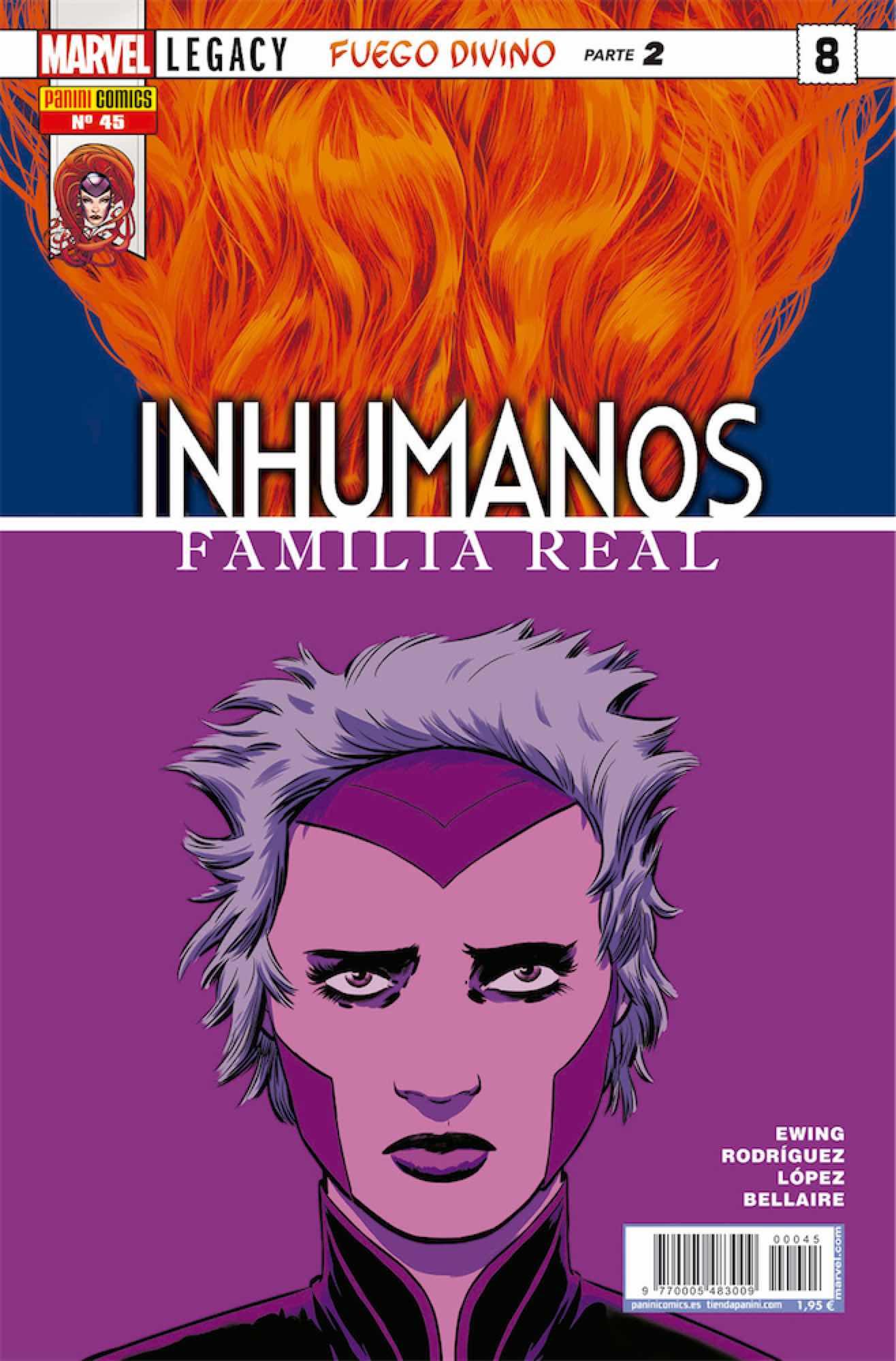 INHUMANOS 45 FAMILIA REAL