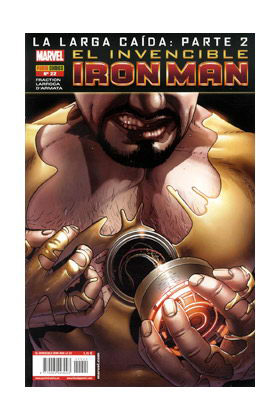 INVENCIBLE IRON MAN VOL 2 22 (LA LARGA CAIDA PARTE 2)