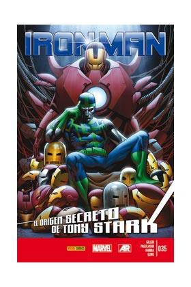 INVENCIBLE IRON MAN VOL 2 35