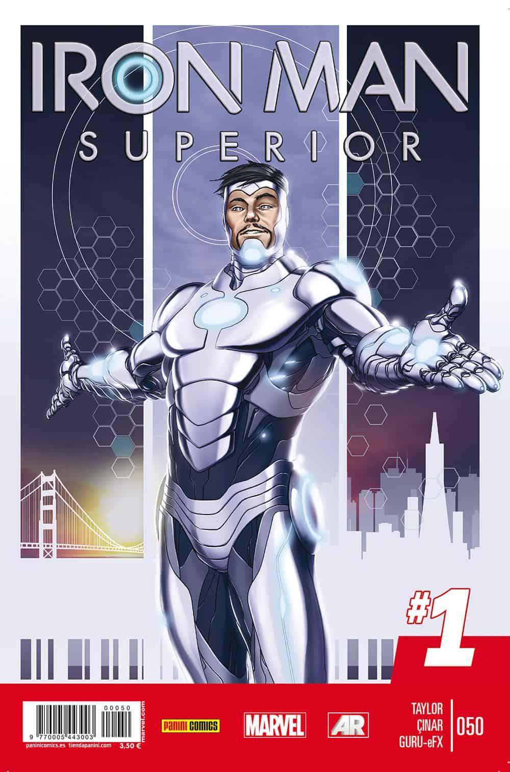 IRON MAN SUPERIOR VOL 2 50. #1