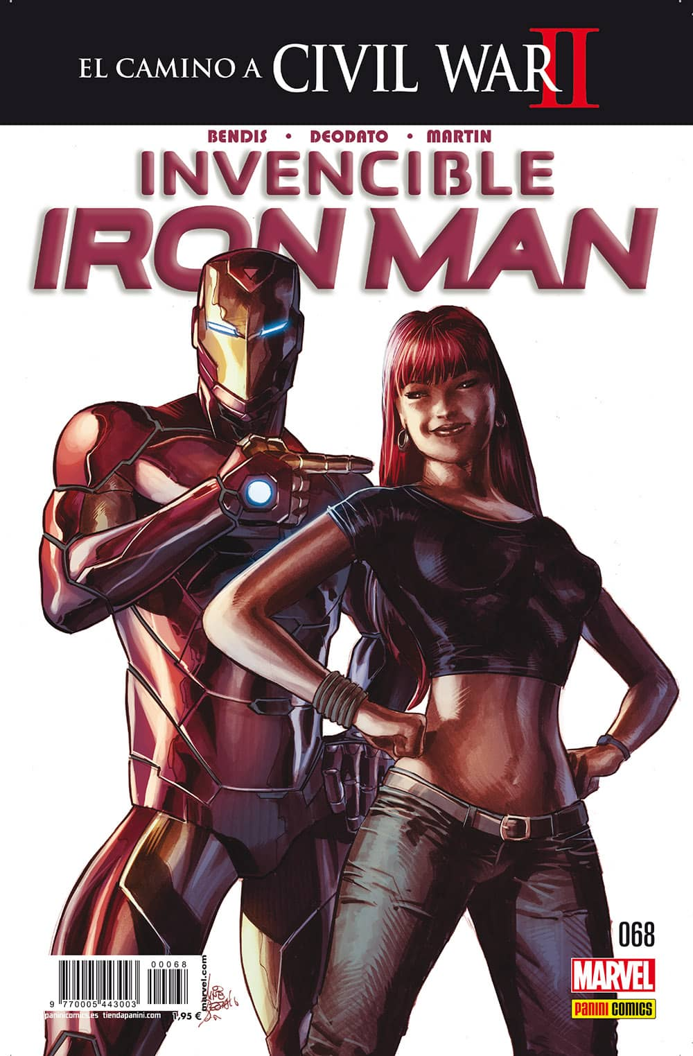INVENCIBLE IRON MAN VOL 2 68