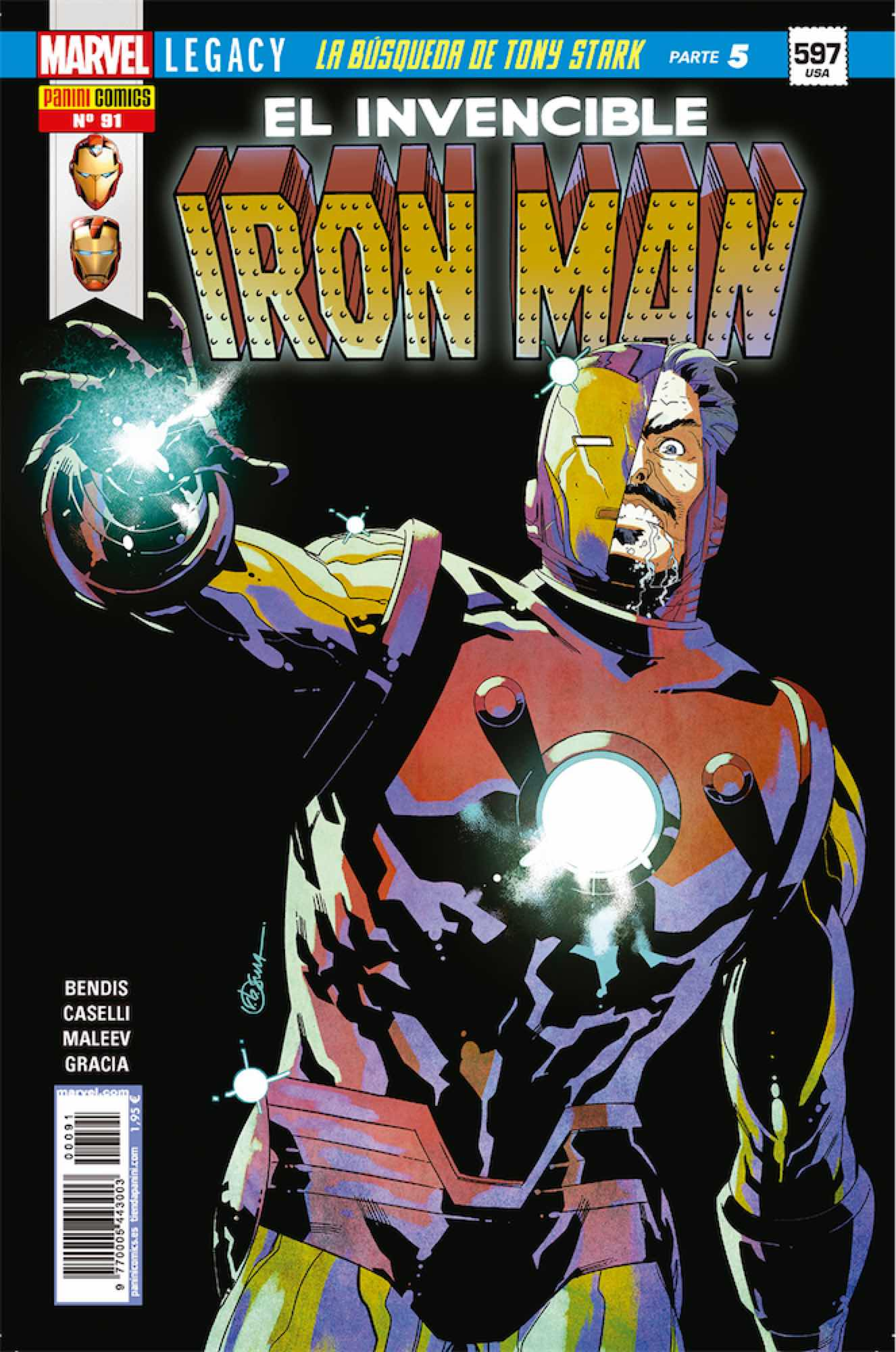 INVENCIBLE IRON MAN VOL 2 91