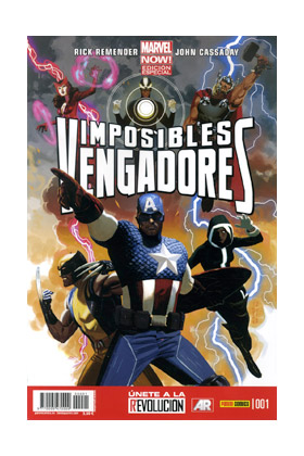 IMPOSIBLES VENGADORES 01 (PORTADA B)