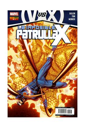 LA IMPOSIBLE PATRULLA-X 07