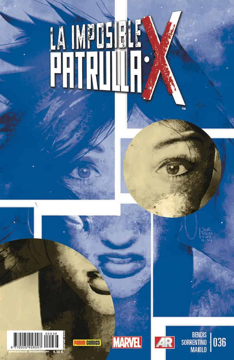 LA IMPOSIBLE PATRULLA-X 36