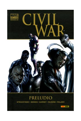 CIVIL WAR: PRELUDIO  (MARVEL DELUXE)