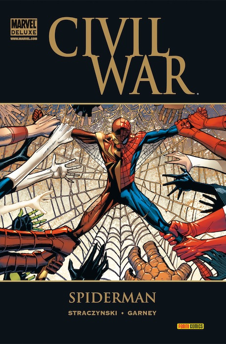 CIVIL WAR: SPIDERMAN  (MARVEL DELUXE)